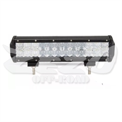 Barra de Led Reta 72W Philips Leds Lentes 5D Respiro Integrado (30,5cm x 8,0cm x 6,5cm)