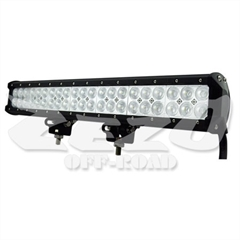 "Barra Led Reta 20"" 126W lentes 5D"