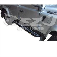Estribo 2.1/2 pol (parede 1,9mm) Land Rover Defender 110 Longa (par)