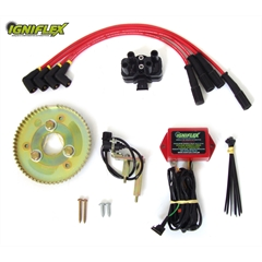 kit Igniflex Jeep/Rural/F-75 ano 74... Ford 4cc Ohc 2.3 c/ polia Simples