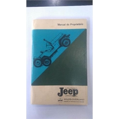 Manual do Proprietário Jeep Willys Cj5 Usado