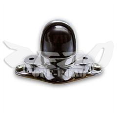lanterna de placa ou painel adaptação cromado plástico