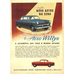 Quadro Decorativo Willys (70cm x 50cm) PVC (3mm) Modelo 62