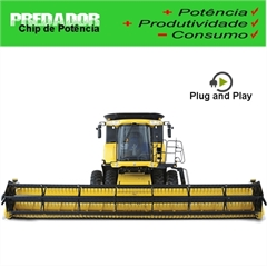 Chip de Potência Colheitadera New Holland CR6080