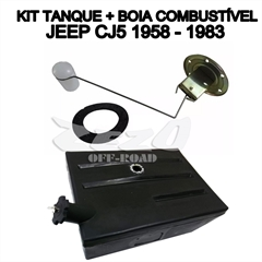 Kit Tanque Jeep Willys Cj5 (1958/...) Plástico